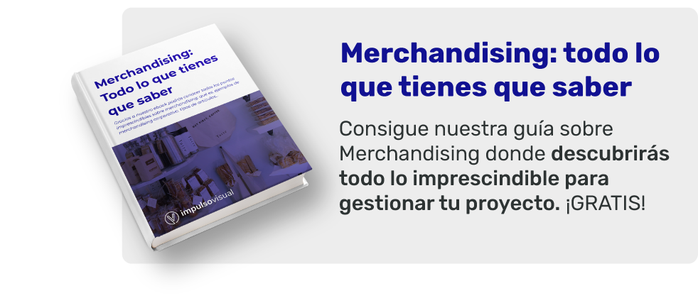 Mascarillas personalizadas para empresas: CTA GuiaMerchandisingImpulsoVisual